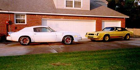Camaro 1979 on 1980 Z28 White 1979 Z28 Yellow Camaro Convertibles