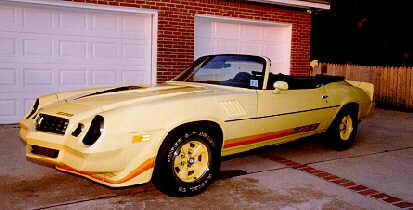 Camaro on Ken S Camaro Z28 Before Restoration Sept 1998